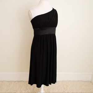 NWT One Shoulder Little Black Dress